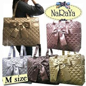 【タイ ナラヤ NaRaYa】 リボンバッグ 四角型M 【楽ギフ_包装】