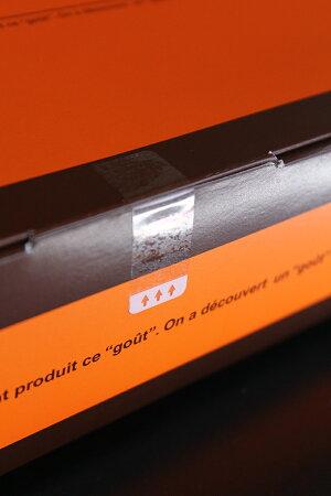 剥がしやすい封印シール40×15mm(1000枚入)一部のり無し透明業務用封印シール5cm【100シート入(1シートに10枚)】日本製