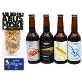 父の日ギフト2018【選べる】城崎ビール1本と燻製ミックスナッツセット父の日カード付【冷蔵便配送】【送料無料】お父さんプレゼント