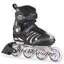 Bladerunner〔ブレードランナー〕 インラインスケート レディース FORMULA 82 W〔Black/Purple〕〔z〕〔SA〕