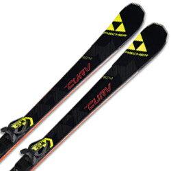 FISCHER〔フィッシャー スキー板〕<2017>RC4 THE CURV TI + RC4 Z 11 Powerrail BRAKE 78 G【金具付き・取付料送料無料】【大型商品】基礎 オールラウンド