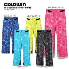 GOLDWIN〔ゴールドウィン スキーウェア レディース パンツ〕<2018>W's SASHIKO FLOWER PANTS GL31705P【技術選着用モデル】【GARA】