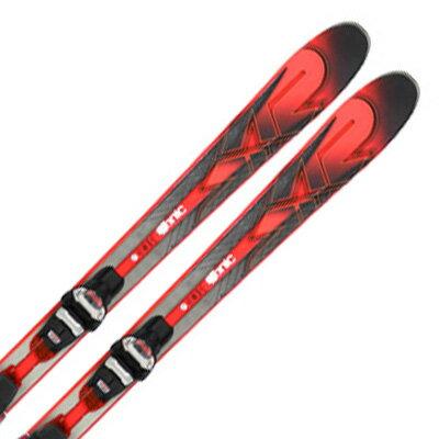 K2〔ケーツー スキー板〕<2017>iKonic 85Ti〔アイコニック85Ti〕 + MXC 12 FREE TCx QUICKLICK【金具付き・取付料送料無料】〔SA〕