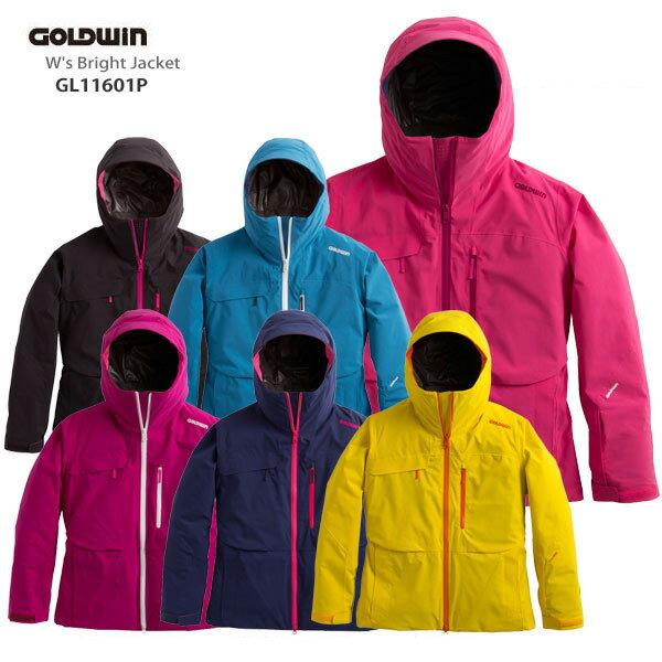 【P5倍!】【あす楽】【LW】GOLDWIN〔ゴールドウィン スキーウェア ジャケット レディース〕<2017>W's Bright Jacket GL11601P【送料無料】【MUJI】〔SA〕
