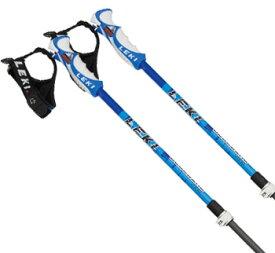 18-19 LEKI〔レキ スキー ポール・ストック〕<2019>BLUE BIRD VARIO S〔ブルー〕 【伸縮式ストック】