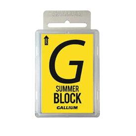 GALLIUM〔ガリウムワックス〕SW2148 / SUMMER Block〔100g〕 スキー スノーボード 固形
