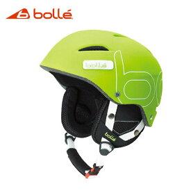 【送料無料】bolle 〔ボレー スキーヘルメット〕<2018>B-STYLE〔ビースタイル〕SOFT GREEN〔HG〕