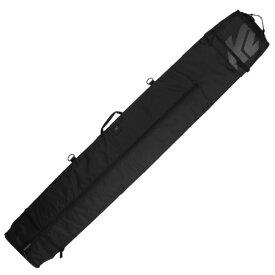 K2〔ケーツー2台用 スキーケース〕<2020>Deluxe Double ski Bag〔BLACK〕 19-20