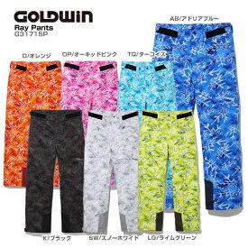 GOLDWIN〔ゴールドウィン スキーウェア パンツ〕<2018>RAY PANTS G31715P【技術選着用モデル】【GARA】〔SA〕