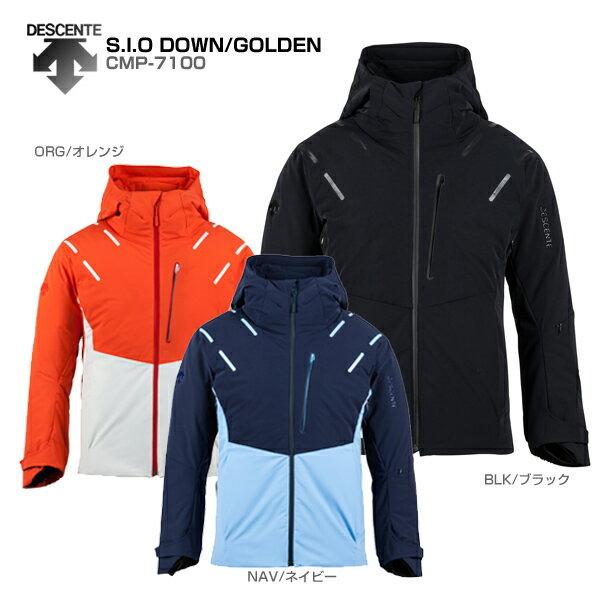 DESCENTE〔デサント スキーウェア ジャケット メンズ レディース〕<2018>S.I.O DOWN/GOLDEN CMP-7100【送料無料】【GARA】【SLTT】〔Sale〕