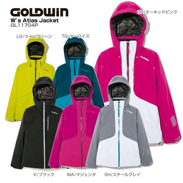 GOLDWIN〔ゴールドウィン スキーウェア ジャケット レディース〕<2018>W's ATLAS JACKET GL11704P【送料無料】【MUJI】