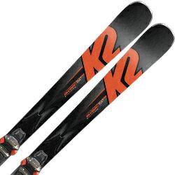 K2〔ケーツー スキー板〕<2018>iKonic 84ti〔アイコニック84ti〕 + MXC 12 TCx【金具付き・取付料送料無料】ファットスキー