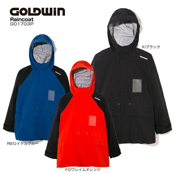 【P5倍!】【あす楽】GOLDWIN〔ゴールドウィン レインウェア〕<2018>Raincoat G01703P レインコート【送料無料】
