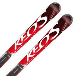 【18-19 NEWモデル】OGASAKA〔オガサカ スキー板〕<2019>KEO'S〔ケオッズ〕KS-RX + FL585 + <17>RACE 16 pd.rd/wh【金具付き・取付料送料無料】基礎 オールラウンド