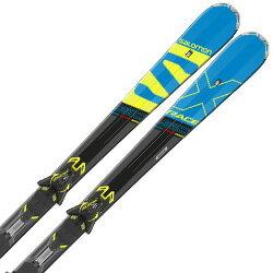 【期間限定!スキー板はさらにポイント5倍!11/14 18時〜11/21 13時まで】SALOMON〔サロモン スキー板〕<2018>X-RACE SC + XT12【金具付き・取付料送料無料】【E】