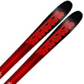 K2〔ケーツー スキー板〕<2018>Pinnacle 85〔ピナクル 85〕 + <18>GRIFFON 13 ID WH【金具付き・取付送料無料】ファットスキー