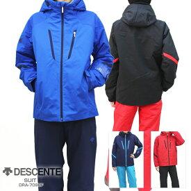 18-19 DESCENTE〔デサント スキーウェア メンズ〕<2019>SUIT/DRA-7090F【上下セット 大人用】【送料無料】 MEN 〔SA〕【RSS】