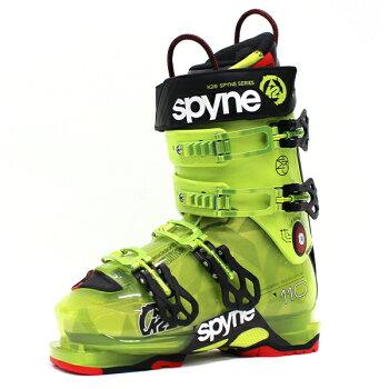 K2ケーツースキーブーツSpyne110SCスパイン110ショートカフGR