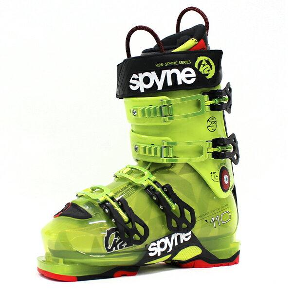 K2〔ケーツー スキーブーツ〕<2017>Spyne 110 SC〔スパイン110ショートカフ〕〔GR〕【送料無料】〔SA〕
