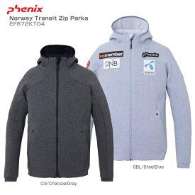 【エントリーで最大24倍!10/25限定】18-19 PHENIX〔フェニックス ミドルレイヤー インナージャケット〕<2019>Norway Transit Zip Parka EF872KT04 スキー スノーボード〔SA〕【HADS】