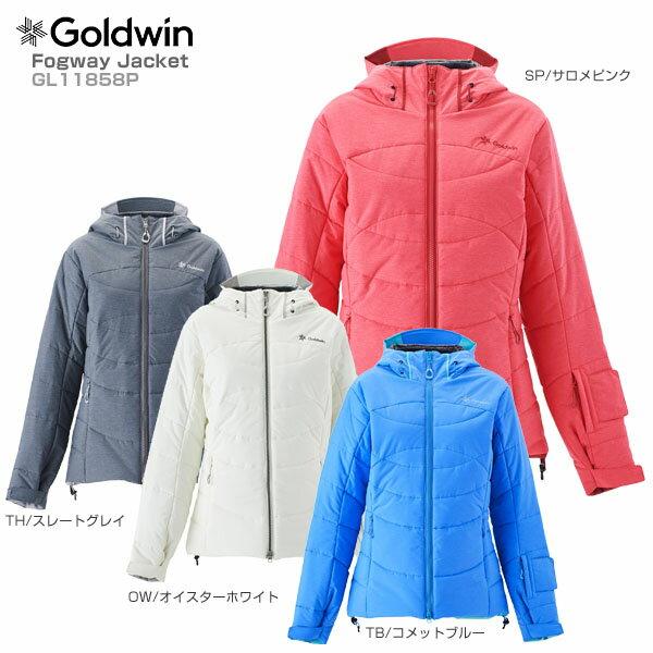 【18-19 NEWモデル】GOLDWIN〔ゴールドウィン スキーウェア ジャケット〕<2019>Fogway Jacket GL11858P【送料無料】 スキー スノーボード【MUJI】