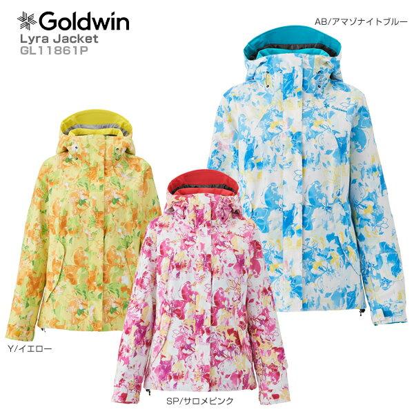 【18-19 NEWモデル】GOLDWIN〔ゴールドウィン スキーウェア ジャケット〕<2019>Lyra Jacket GL11861P【送料無料】 スキー スノーボード【GARA】