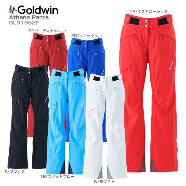 【18-19 NEWモデル】GOLDWIN〔ゴールドウィン スキーウェア パンツ〕<2019>Athena Pants GL31852P【GORE-TEX】【送料無料】 スキー スノーボード【MUJI】