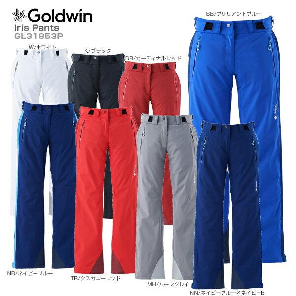 【18-19 NEWモデル】GOLDWIN〔ゴールドウィン スキーウェア パンツ〕<2019>Iris Pants GL31853P【送料無料】【MUJI】