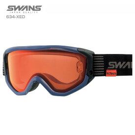 SWANS〔スワンズ スキーゴーグル〕<2020>634-XED〔マットネイビー〕【送料無料】