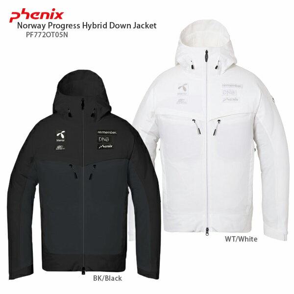PHENIX〔フェニックス スキーウェア ジャケット〕<2018>Norway Progress Hybrid Down Jacket PF772OT05N【送料無料】 スキー スノーボード〔SA〕