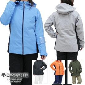 18-19 DESCENTE〔デサント スキーウェア レディース〕<2019>LADIES SUIT/DRA-7290WF【上下セット 大人用】【送料無料】〔SA〕
