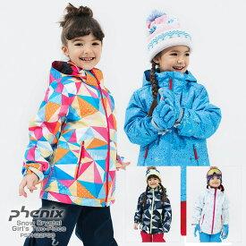 PHENIX〔フェニックス ジュニアスキーウェア〕<2018>Snow Crystal Girl's Two-Piece PS7H22P90【上下セット ジュニア】〔SA〕