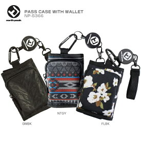 north peak〔ノースピーク パスケース〕PASS CASE WITH WALLET NP-5366