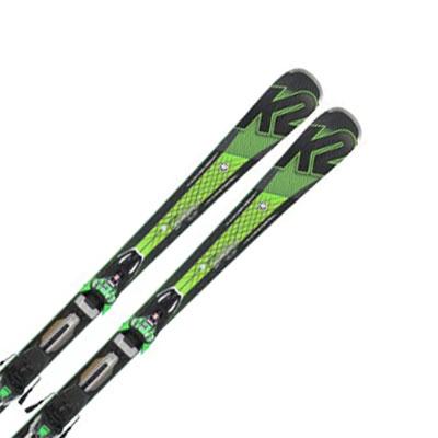 【期間限定!スキー板はさらにポイント5倍!11/14 18時〜11/21 13時まで】K2〔ケーツー スキー板〕<2017>SUPER CHARGER〔スーパー チャージャー〕 + MXCell 12 TCx 【金具付き・取付料送料無料】〔SA〕【E】