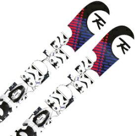 ROSSIGNOL〔ロシニョール ジュニアスキー板〕<2019>STAR WARS KID-X〔スターウォーズ〕+ KID-X 4 B76 Black White【金具付き・取付無料】