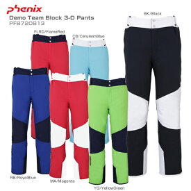 PHENIX〔フェニックス スキーウェア パンツ〕<2019>Demo Team Block 3-D Pants PF872OB13【SLTT】【MUJI】〔SA〕【RSS】