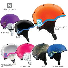 【割引セール中!】SALOMON〔サロモン ジュニア スキーヘルメット〕<2019>GROM〔SAH〕