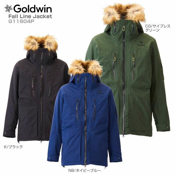 【18-19 NEWモデル】GOLDWIN〔ゴールドウィン スキーウェア ジャケット〕<2019>Fall Line Jacket G11804P【送料無料】 スキー スノーボード【MUJI】