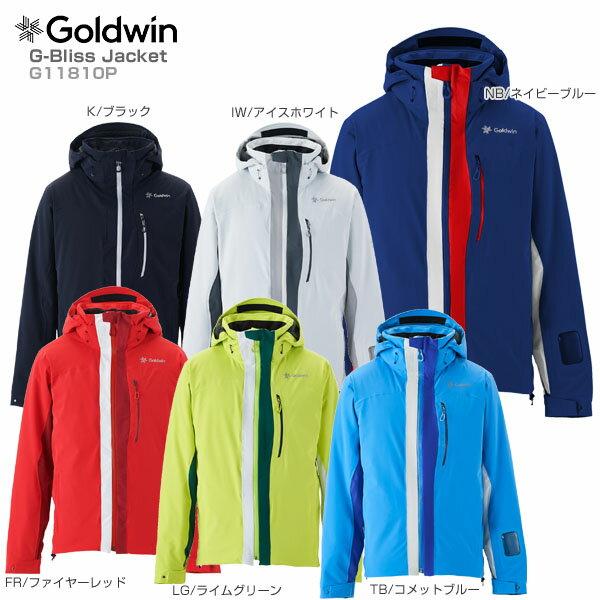 【スマホからエントリーでP10倍! 11/14 10時〜11/21 9時59分】【18-19 NEWモデル】GOLDWIN〔ゴールドウィン スキーウェア ジャケット〕<2019>G-Bliss Jacket G11810P【送料無料】【SLTT】