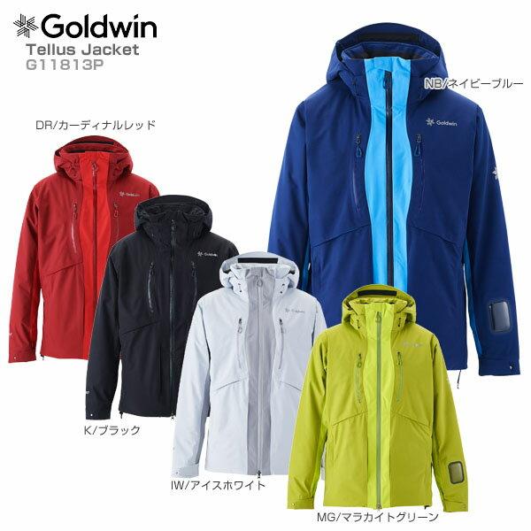 【18-19 NEWモデル】GOLDWIN〔ゴールドウィン スキーウェア ジャケット〕<2019>Tellus Jacket G11813P【送料無料】【MUJI】【TLGW】