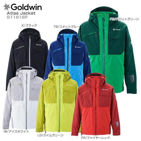【18-19 NEWモデル】GOLDWIN〔ゴールドウィン スキーウェア ジャケット〕<2019>Atlas Jacket G11815P【送料無料】 スキー スノーボード【SLTT】【MUJI】