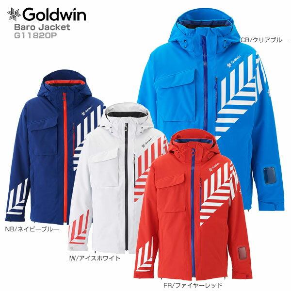 【18-19 NEWモデル】GOLDWIN〔ゴールドウィン スキーウェア ジャケット〕<2019>Baro Jacket G11820P【送料無料】【GARA】