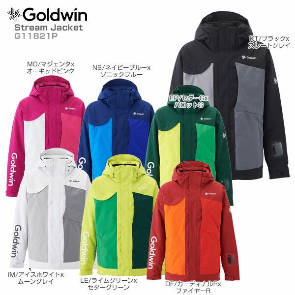 【18-19 NEWモデル】GOLDWIN〔ゴールドウィン スキーウェア ジャケット〕<2019>Stream Jacket G11821P【送料無料】