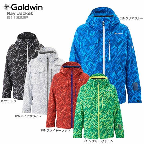 【P5倍!】【あす楽】【18-19 NEWモデル】GOLDWIN〔ゴールドウィン スキーウェア ジャケット〕<2019>Ray Jacket G11822P【送料無料】【GARA】