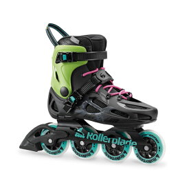 Rollerblade〔ローラーブレード インラインスケート〕MAXXUM CLASSIC〔BLACK/ACID GREEN〕【送料無料】〔SA〕