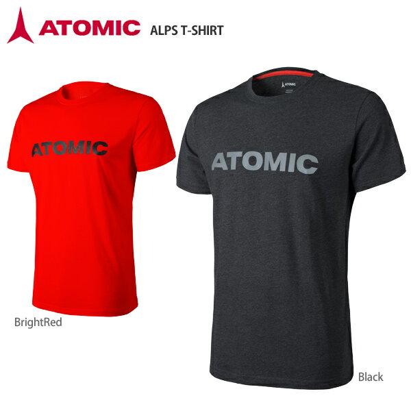 【スマホからエントリーでP10倍! 11/14 10時〜11/21 9時59分】【18-19 NEWモデル】ATOMIC〔アトミック Tシャツ〕<2019>ALPS T-SHIRT