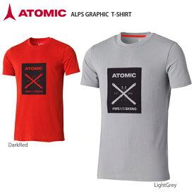 ATOMIC〔アトミック Tシャツ〕<2019>ALPS GRAPHIC T-SHIRT