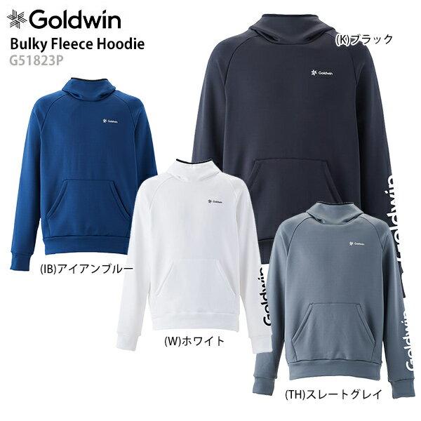 GOLDWIN〔ゴールドウィン ミドルレイヤー〕<2019>Bulky Fleece Hoodie G51823P 春 スキー スノーボード