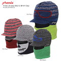 PHENIXフェニックスジュニアニット帽Trick2wayBoysBrimCapトリック2wayボーイズブリムキャップPS8G8HW83