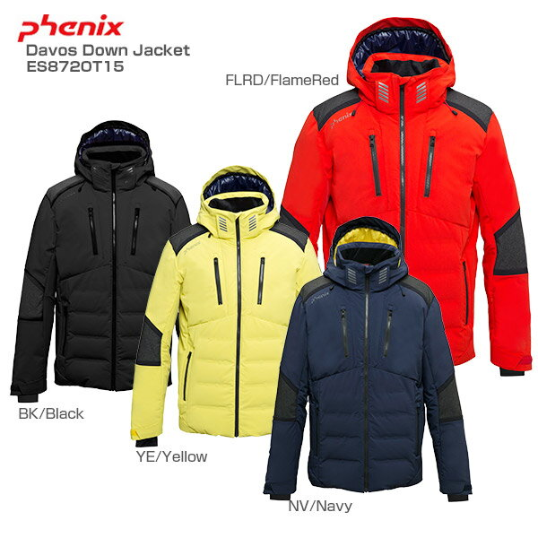 PHENIX〔フェニックス スキーウェア ジャケット メンズ〕<2019>Davos Down Jacket〔ダボスダウンジャケット〕ES872OT15【送料無料】【MUJI】